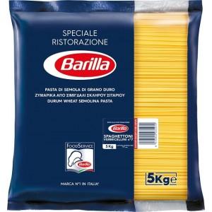 """Μακαρόνια Νο7 Spaghettoni """"Barilla"""" (5 Kg τεμάχιο / 3 τεμάχια στο κιβώτιο)"""