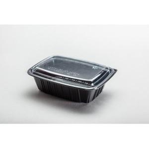 Σκεύος Μάυρο & Καπάκι H060G (50 τεμάχια στο πακέτο/4 πακέτα στο κιβώτιο)