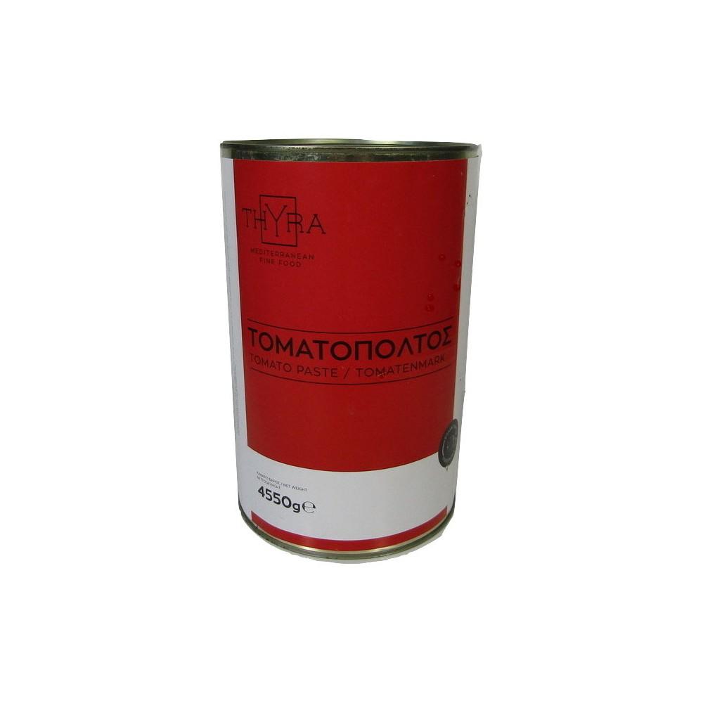 Τοματοπολτός 28-30% Συμπύκνωση (5 Kg τεμάχιο-4,550 καθαρό βάρος/6 τεμάχια στο κιβώτιο)