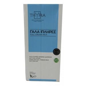 """Γάλα Μακράς Διάρκειας """"Thyra"""" 3,5 % λιπαρά Αυστρίας (1 Lt τεμάχιο / 12 τεμάχια στο κιβώτιο)"""