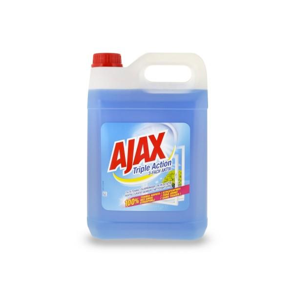 Ajax τζαμιών Επαγγελματικό (5 Lt τεμάχιο/2 τεμάχια στο κιβώτιο)