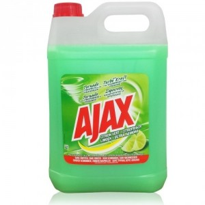 Ajax Ultra Σίφουνας Λεμόνι Για Πάτωμα (5 Lt τεμάχιο/2 τεμάχια στο κιβώτιο)