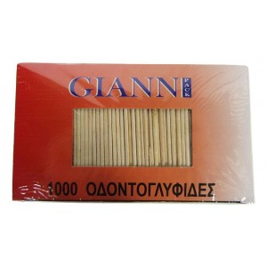 Οδοντογλυφίδες (1000 τεμάχια στο πακέτο/12 πακέτα στο κιβώτιο)