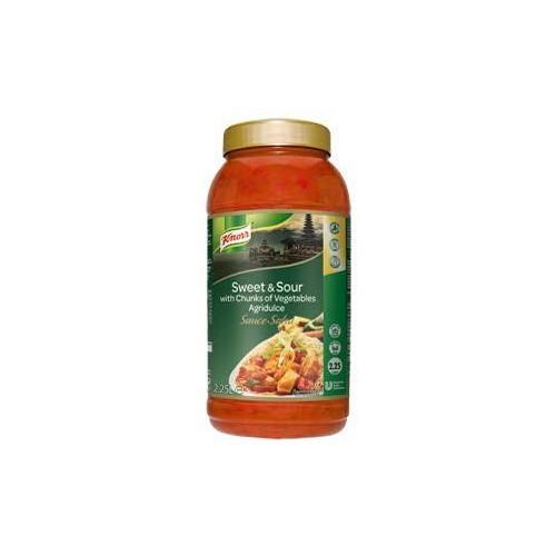 """Σάλτσα Γλυκόξινη """"Knorr"""" (2,5 lt τεμάχιο/2 τεμάχια στο κιβώτιο)"""