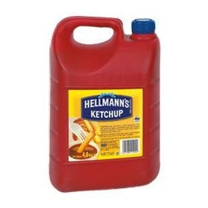 Kέτσαπ Hellmann's (4,8 Kg δοχείο/4 δοχεία στο κιβώτιο)