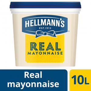 Μαγιονέζα Hellmann's Real (10 Lt τεμάχιο / 2 τεμάχια στο κιβώτιο)