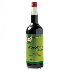 """Σάλτσα Αγγλική Worcester """"Knorr"""" (1,125gr τεμάχιο/6 τεμάχια στο κιβώτιο)"""