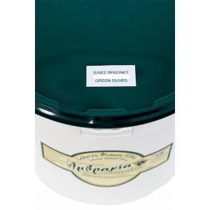 Ελιές Πράσινες 161-180 (5 Kg δοχείο)