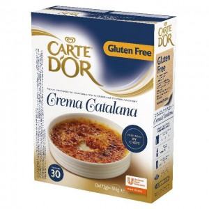 Μίγμα Κρέμα Καταλάνα (516 gr τεμάχιο/6 τεμάχια στο κιβώτιο)