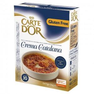 """Μίγμα Κρέμα Καταλάνα """"Carte d'or"""" (516 gr τεμάχιο/6 τεμάχια στο κιβώτιο)"""