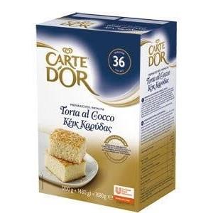 """Μίγμα Μους Καρύδα """"Carte d'or"""" (675 gr τεμάχιο/6 τεμάχια στο κιβώτιο)"""
