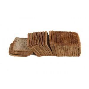 Ψωμί Τόστ Γίγας Ολ. Αλέσεως 12 εκ. (1000 gr πακέτο/27 φέτες στο πακέτο/ 5 τεμάχια στο κιβώτιο)