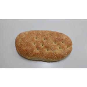 Ψωμι Λαγανάκι με Σουσάμι προψημένο 120 gr (30 τεμάχιο στο κιβώτιο)