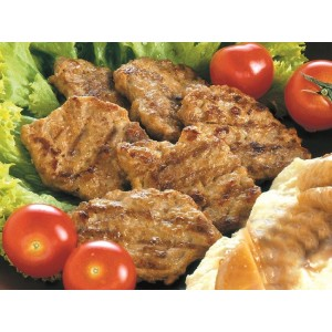 Μπριζολάκι Χοιρινό Ψημένο 35-40 gr (1 Kg τεμάχιο/6 τεμάχια στο κιβώτιο)
