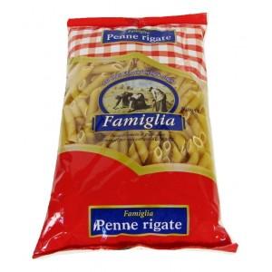 """Πέννες  Ριγέ """"Famiglia"""" (500 gr τεμάχιο / 24 τεμάχια στο κιβώτιο)"""