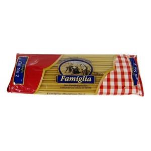 """Μακαρόνια Νο2 """"Famiglia"""" (500 gr τεμάχιο/ 15 τεμάχια στο κιβώτιο)"""