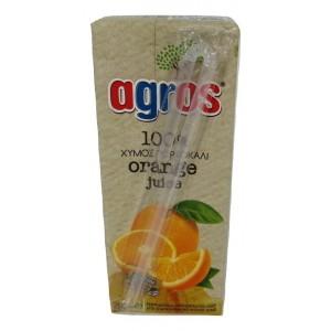 Φυσικός Χυμός Πορτοκάλι 100% 250 ml (27 τεμάχια στο κιβώτιο)
