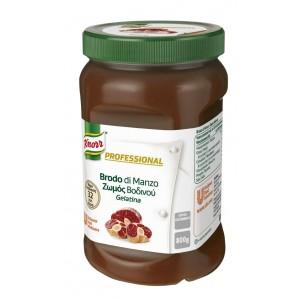 """Ζωμός Βοδινού σε Gel Επαγγελματικός """"Knorr""""  (800 gr τεμάχιο/2 τεμάχια στο κιβώτιο)"""