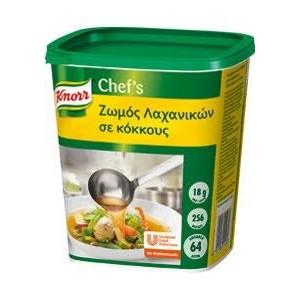 """Ζωμός Λαχανικών σε Κόκκους """"Knorr"""" (1,15 kg τεμάχιο/6 τεμάχια στο κιβώτιο)"""