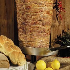 """Γύρος Χοιρινός Delicious Σπάλα/Πανσέτα 50/50 Κατεψυγμένος """"Μέγας Γύροε"""" (35 Kg τεμάχιο)"""