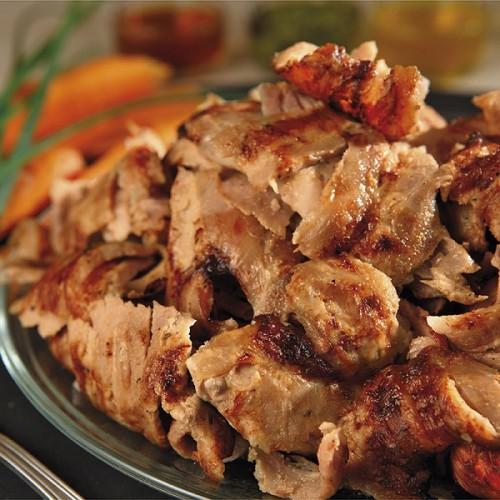 """Γύρος Κοτόπουλο Προψημένος Τεμαχισμένος Κατεψυγμένος """"Μακεδονίας"""" (2 Kg κιβώτιο)"""