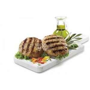 """Κοτόπουλο Μπιφτέκι Κατεψυγμένο 130 gr/τεμάχιο """"Μέγας Γύρος""""  (33 τεμάχια/4.290 Kg το κιβώτιο)"""