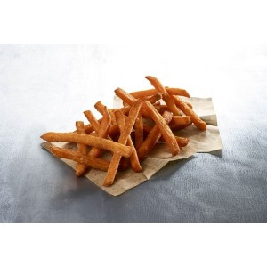"""Πατάτα Προτηγανισμένη Κατεψυγμένη Sweet Potato Fries """"McCain"""" (2.5 Kg τεμάχιο / 4 τεμάχια στο κιβώτιο)"""