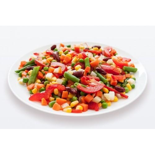 Αρακάς Ανάμεικτα Λαχανικά 5 Είδη 10 Kg