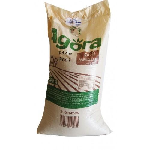 """Ρύζι Bella Parboiled """"Agora"""" 25 Kg"""