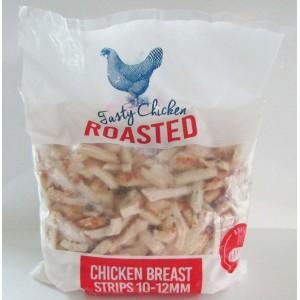 Κοτόπουλο Φιλέτο Ψημένο Λωρίδες 10 mm (2.5 Kg τεμάχιο/ 4 τεμάχια στο κιβώτιο)