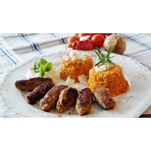 Σουτζουκάκια Βοδινό-Χοιρινό Κατεψυγμένα 60 gr/τεμάχιο (85 τεμάχια περίπου/5 Kg το κιβώτιο)