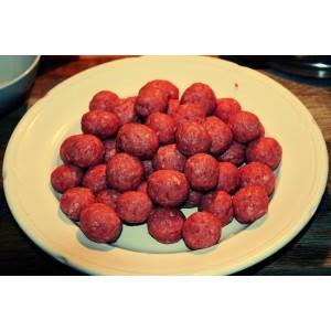 Κεφτεδάκια Βοδινό-Χοιρινο Κατεψυγμένα 60 gr (5 Kg κιβώτιο)