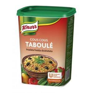 """Κους Κους Ταμπουλέ Αφυδατωμένο """" Knorr"""" (625 gr τεμάχιο/ 6 τεμάχια στο κιβώτιο)"""
