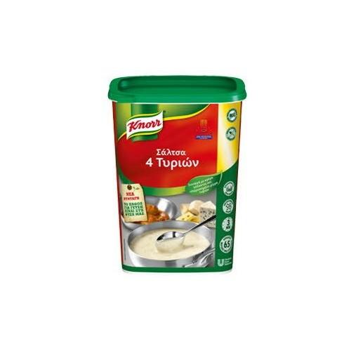 """Σάλτσα 4 Τυριά Αφυδατωμένη """"Knorr"""" (775 gr τεμάχιο/6 τεμάχια στο κιβώτιο)"""
