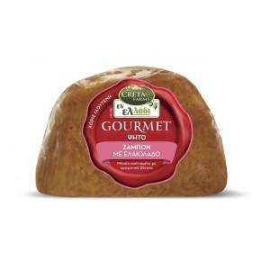"""Ζαμπόν Ψήτο με Ελαιόλαδο Gourmet """"Εν Ελλάδι"""" (2,900 Kg τεμάχιο/8,700 Kg στο κιβώτιο)"""