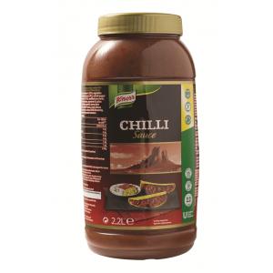 """Υγρή Σάλτσα Τσίλι """"Knorr"""" (2,20 lt τεμάχιο/2 τεμάχια στο κιβώτιο)"""