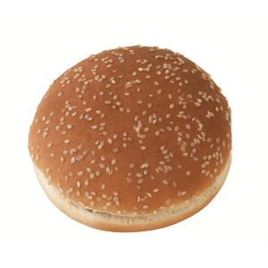 """Ψωμί Χάμπουργκερ με σουσάμι """"Bun"""" 9.5 εκ. 54 gr (60 τεμάχια στο κιβώτιο)"""
