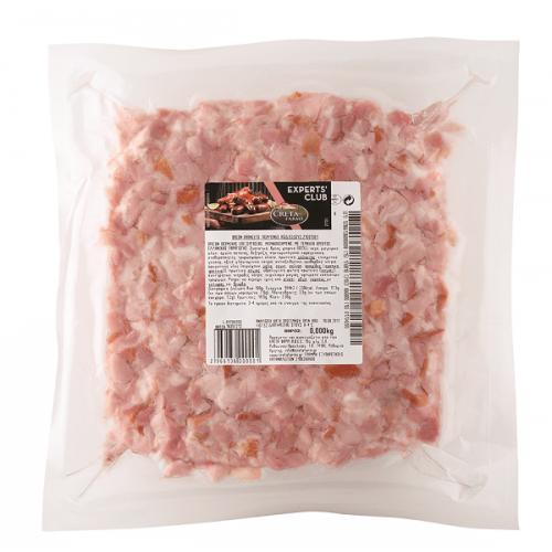 """Μπείκον trimmings """"Creta Farms"""" (0.900 gr τεμάχιο περίπου/ 20 Kg κιβώτιο περίπου)"""