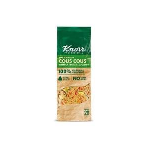 """Κουσκούς με Κολοκυθάκια, Καρότα & Εσπεριδοειδή """"Knorr"""" (610 gr τεμάχιο/4 τεμάχια στο κιβώτιο)"""