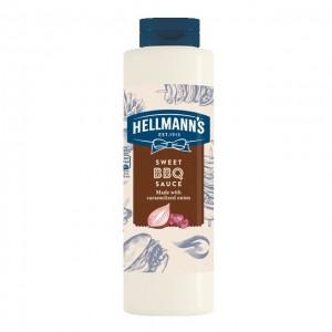 """Σάλτσα Μπάρμπεκιου """"Hellmann's"""" (0.950gr τεμάχιο/6 τεμάχια στο κιβώτιο)"""
