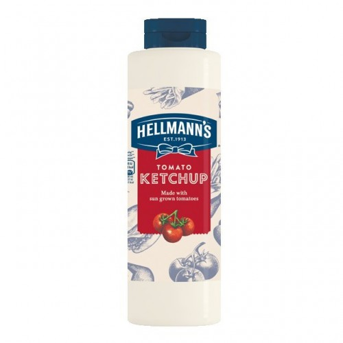 """Κετσαπ """"Hellmann's"""" (0.950 gr τεμάχιο/6 τεμάχια στο κιβώτιο)"""