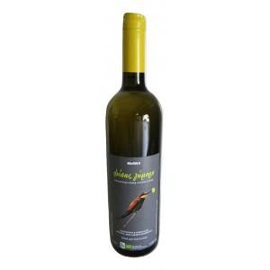 """Κρασί Λευκό Ξηρό Φιάλη """"Βιολογικό"""" (0,750 Lt τεμάχιο/6 τεμάχια στο κιβώτιο)"""