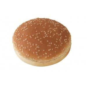 """Ψωμί Χάμπουργκερ με Σουσάμι Mega """"Bun"""" 14.5 εκ. 130 gr (24 τεμάχια στο κιβώτιο)"""