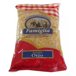 """Κριθαράκι χοντρό """"Famiglia"""" (500 gr τεμάχιο/24 τεμάχια στο κιβώτιο)"""