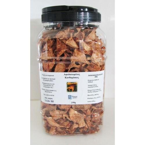 Άγρια Μανιτάρια Αφυδατωμένα Κανθαρίσκος 250 gr