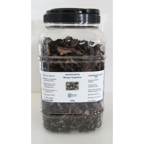 Μανιτάρι Αφυδατωμένο Μαύρη Τρομπέτα 250 gr