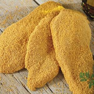 """Κοτόπουλο Σνίτσελ Crispy Πανέ Κατεψυγμένο 90-120γρ/τεμ """"Μακεδονίας"""" (3 Kg κιβώτιο)"""