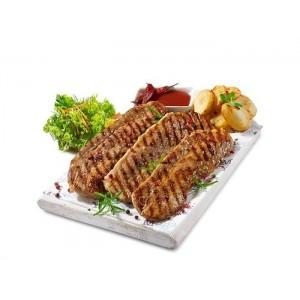 Χοιρινό Πανσετάκι Κατεψυγμένο Μαριναρισμένο BBQ 100 gr/τεμάχιο (70 τεμάχια-7 Kg το κιβώτιο)