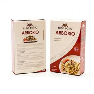 Ρυζί Arborio (1 Kg τεμάχιο/12 τεμάχια στο κιβώτιο)