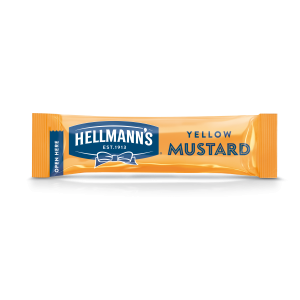 """Μουστάρδα Μερίδα """"Hellmann's"""" (198 τεμάχια στο κιβώτιο)"""